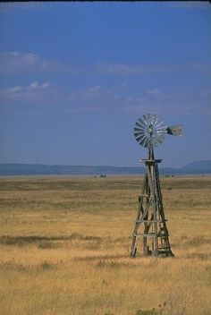 Old farm windmill, Highway NM I want one in my yard!