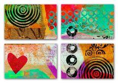 Making Postcards Video by Jane Davies.