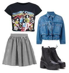 """""""Untitled #232"""" by ninaellie on Polyvore featuring Boohoo and Dolce&Gabbana"""
