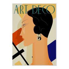 Art Deco Posters | Moda 03 del art déco poster
