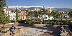 Plaza de Santa Isabel la Real, barrio del Albayzín