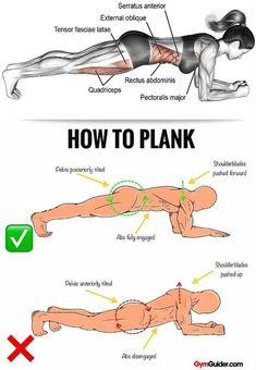 Rock Solid Abs & Core With These 11 Plank Variations Planking has become increasingly popular for core strengthening, and for good reason: it works – in large part because it engages multiple muscle g Gym Workout Tips, Plank Workout, Workout Challenge, At Home Workouts, 30 Day Plank Challenge, Oblique Workout, Workout Diet, Physical Fitness, Excercise