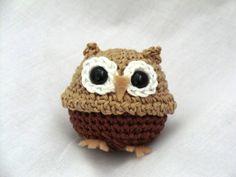Mini owl amigurumi PDF crochet pattern