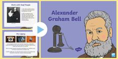 A lovely PowerPoint presentation covering the life and inventions of Scottish scientist, inventor and engineer, Alexander Graham Bell