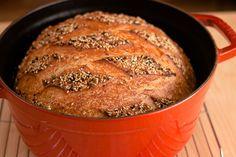 Artisan sourdough bread tips via @kingarthurflour Part 3, scoring and baking