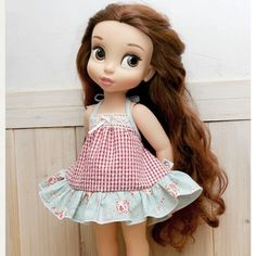 "Disney Baby doll clothes dress clothing halter neck collection Princess 16"" DR05"