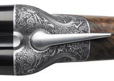 "Marc Newson's ""streamlined"" 486 shotgun unveiled by Beretta."