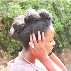 @wendy_osodo | photo by @eskaruri | #4chairchicks. hairstyles for natural hair. natural hair updo. 4c hair. 4c hair type. hairstyles for 4c hair. afro hairstyles.