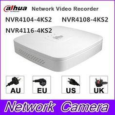 Original egnlish version dahua English Smart 1U NVR with P2P Mini NVR NVR4104/NVR4108/NVR4116-4KS2 DHL Shipping #Affiliate