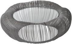Sedgewick Black Wire Coffee Table by Artisanti