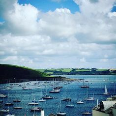 #Summer lingers longer in #Falmouth! #Cornwall #harbour #boats #sea