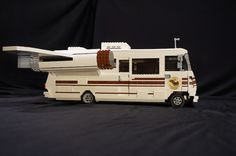 Side view of LEGO Spaceballs motorhome
