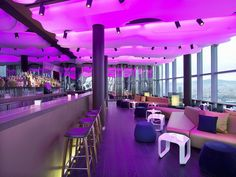 places to visit in Barcelona - Eclipse Bar The official bar of the W Hotel Barcelona Hotels, Barcelona Spain, Barcelona Bars, Barcelona Travel, Youth Group Rooms, Hotel W, Bars And Clubs, Europe, Hotel Reviews