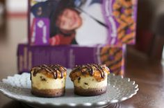 Samoas Cheesecake Bites: The flavors of the popular Girl Scout cookies in a wonderful mini cheesecake.