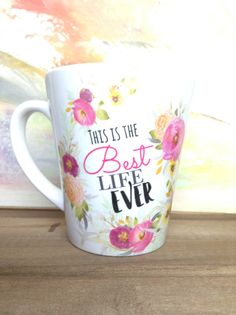 Vinny - Just had my first pioneer school and service year, totally agree!! Best Life Ever Mug by HappierToGive on Etsy