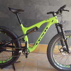 Tenh Desing FDS 100 full carbon  Double suspension Fat Bike