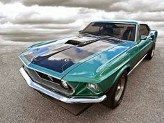 Ford Mustang '69 Mach 1