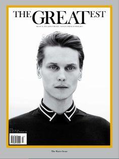 THE GREATEST #3  SPRING SUMMER 2013 OUT NOW !!  PHOTO PAOLO ZERBINI FASHION EDITOR MATTEO GRECO GROOMING VALENTINO PERINI  MODEL Tomek Szczukiecki TOTAL LOOK Dior
