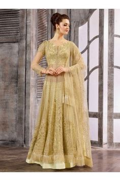 fb7a44d1f6 Buy Off White color net wedding wear Ghagra Choliin UK, USA and Canada