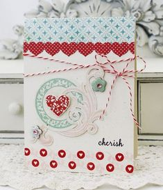 card by Melissa Phillips for Papertrey Ink (January 2012).