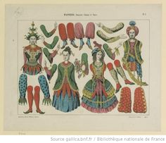 Pantins. N° 1, Danseurs chinois et turcs : [estampe]