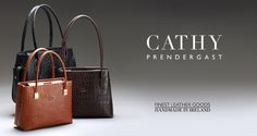 Cathy Prendergast Irish designer making the finest quality leather handbags, satchels and fashion accessories for women and men. Handmade in Ireland. Ladies Handbags, Italian Leather, Designer Handbags, Louis Vuitton Damier, Leather Handbags, Irish, Fashion Accessories, Satchel, Studio
