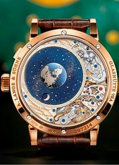 "a7ba7dff3ce Reloj Lange   Söhne Richard Lange Perpetual Calendar ""Terraluna"""
