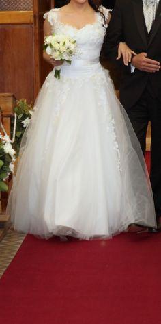 ¡Nuevo vestido publicado!  Hanna – T38 ¡por sólo $8000! ¡Ahorra un 47%!   http://www.weddalia.com/ar/tienda-vender-vestido-novia/hanna-t44/ #VestidosDeNovia vía www.weddalia.com/ar