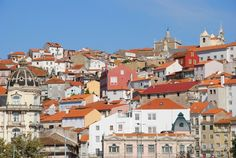 The ancient town of #Coimbra in Portugal