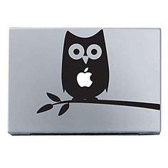 """Owl Pattern Protect Skin Sticker for 11"""" 13"""" 15"""" Macbook Air Pro"""