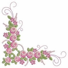 Amazing Heirloom Roses 06(Sm) machine embroidery designs