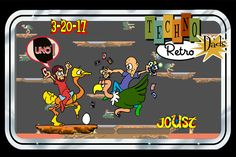 TechnoRetro Dads: UNO, You Joust Ought to Play These Games People Play