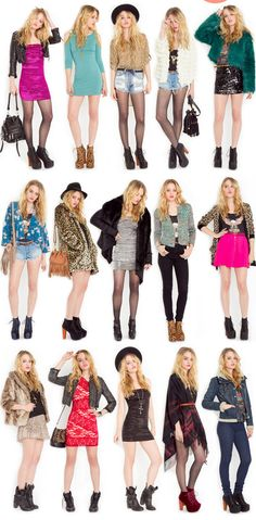 people + outfits = beautiful