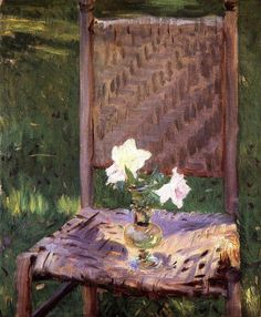 """""""The Old Chair"""" by John Singer Sargent (1886).. of course it is john singer sergeant !"""