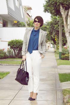 Divina Ejecutiva: Mis Looks - Mezclando prendas atemporales