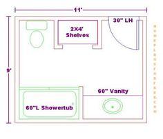 3x5 Shower Design
