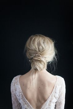 Braids for prom party. Amazing hairstyle choice