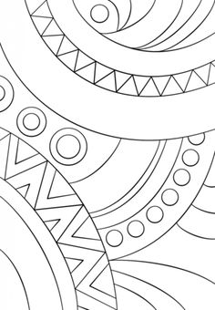 Abstract Pattern coloring page from Pattern category. Select from 25105 printable crafts of cartoons, nature, animals, Bible and many more. Abstract Coloring Pages, Pattern Coloring Pages, Printable Adult Coloring Pages, Mandala Coloring Pages, Free Coloring Pages, Stained Glass Quilt, Stained Glass Patterns, Mosaic Patterns, Textile Pattern Design