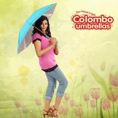 colombo umbrellas facebook ad