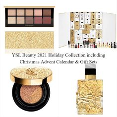 Christmas Gift Sets, Holiday, Advent Calendar Gifts, Ysl Beauty, Makeup News, Eyeshadow, Collection, Hot, Vacations