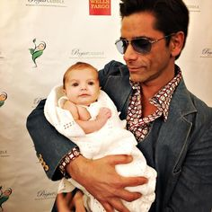 Me and my baby- @projectcuddle Over 800 babies saved and still counting.  Projectcuddle.org #70's by johnstamos