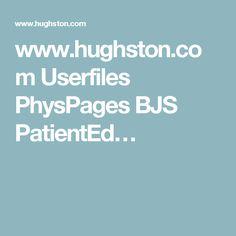 www.hughston.com Userfiles PhysPages BJS PatientEd…