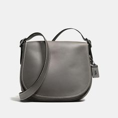 #Coach Stores Limited - #Coach Coach Saddle Bag In Burnished Glovetanned Leather - AdoreWe.com