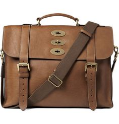 Mulberry Ted Leather Satchel | MR PORTER/ investment quality leather satchel will last decades.