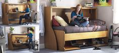 RTL: Really tiny living: study bed Study Bed