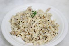 shimeji mushroom. #grains #coconutmilk #mushroom #shimeji #oriental ...