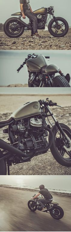 Honda CX500 Cafe Racer by Nozem