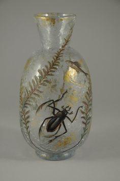 Gallé Bug Vase