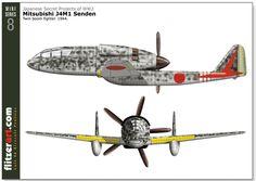 mitsubishi J4M1 Senden