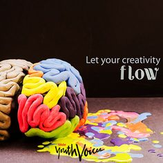 """""""Let your creativity flow."""" Adobe Youth Voices image created by Free the Children"""